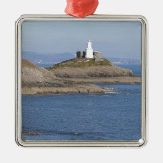 Mumbles Lighthouse, Mumbles Metal Ornament