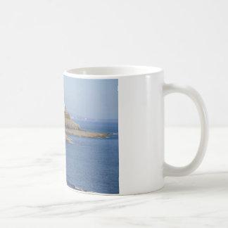 Mumbles Lighthouse, Mumbles Basic White Mug