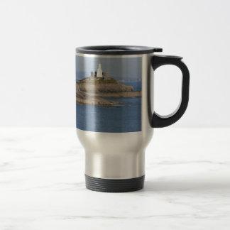 Mumbles Lighthouse, Mumbles Stainless Steel Travel Mug
