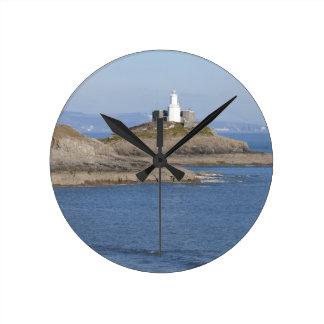Mumbles Lighthouse, Mumbles Round Clock