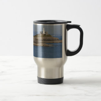 Mumbles Lighthouse, Mumbles Travel Mug