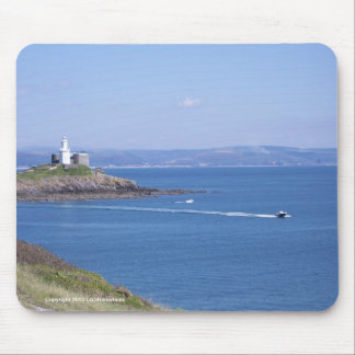 Mumbles Lighthouse, Swansea Mouse Pad