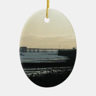 Mumbles Pier Ceramic Ornament