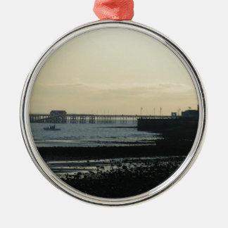 Mumbles Pier Metal Ornament
