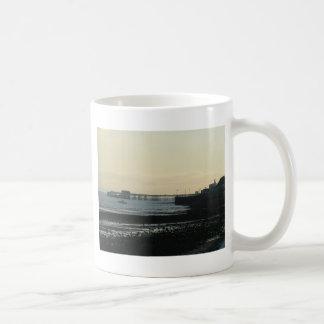 Mumbles Pier Basic White Mug