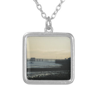 Mumbles Pier Silver Plated Necklace