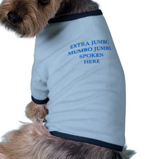 mumbo jumbo doggie t shirt