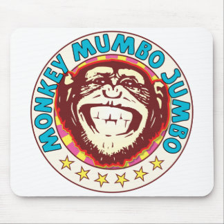 Mumbo Jumbo Monkey Mouse Pad