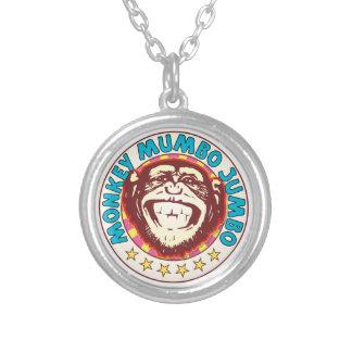 Mumbo Jumbo Monkey Round Pendant Necklace