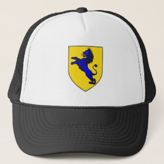 mumford family crest coat of arms two side trucker hat