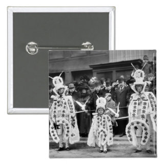 Mummers Parade, New Years Day, 1909 Pin