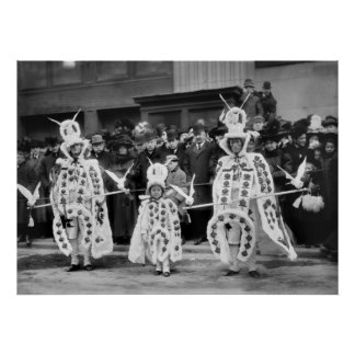 Mummers Parade, New Year's Day, 1909 Posters