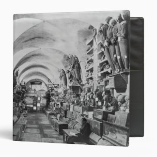 Mummies of catacomb of Palermo, Italy Binder