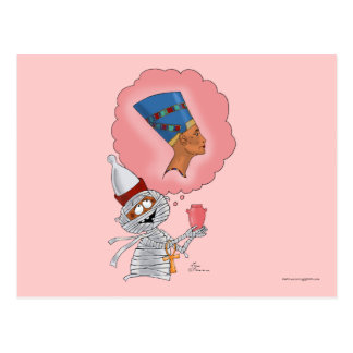 Mummific in Love Postcard