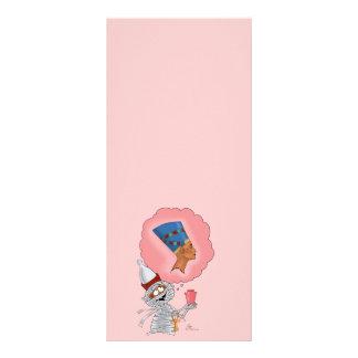 Mummific in Love Rack Card Design