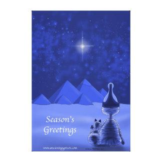Mummific Season's Greetings Canvas Print