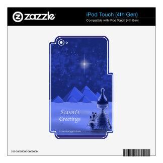 Mummific Season's Greetings iPod Touch 4G Skin
