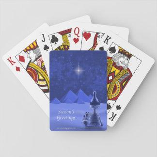 Mummific Seasons Greetings Poker Deck