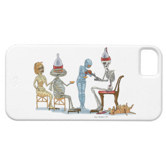 Mummific Skeleton Dinner iPhone SE/5/5s Case