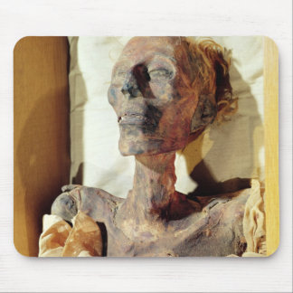 Mummified body of Ramesses II  found in a tomb Mouse Pad