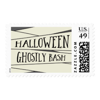 Mummified Halloween Party Postage Stamp