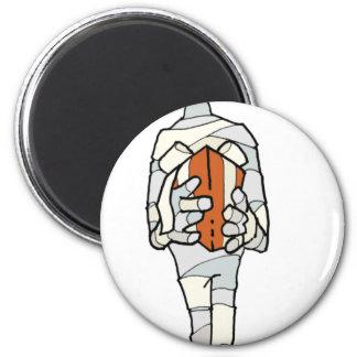 Mummy 2 Inch Round Magnet