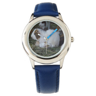 Mummy_And_Baby_Kids_Guinea_Pig_Watch. Wrist Watch