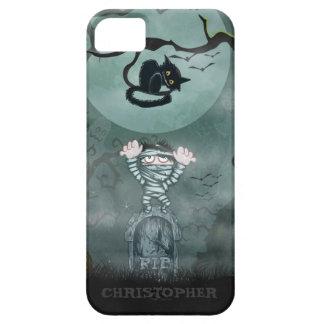 Mummy and Cat iPhone 5 Cases