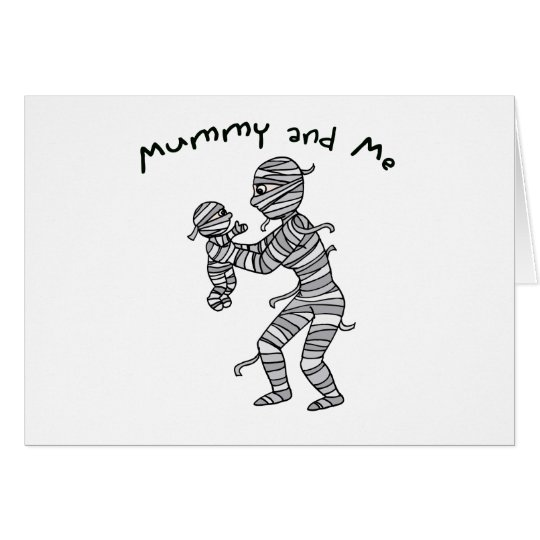 Mummy and Me Greeting Cards