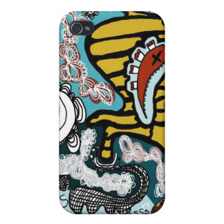 mummy and snake iphone case iPhone 4/4S cases