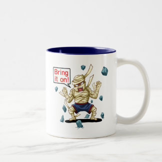 Mummy(Bring it on!) Two-Tone Coffee Mug