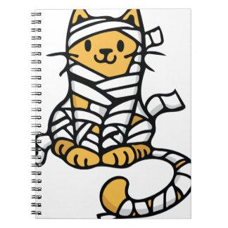 Mummy Cat Spiral Notebook