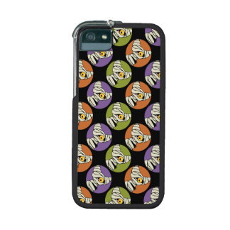 Mummy Cat Spotlight Halloween Pattern Cover For iPhone 5/5S