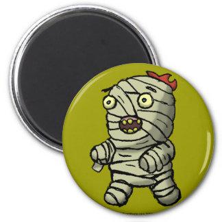 Mummy Dance 2 Inch Round Magnet