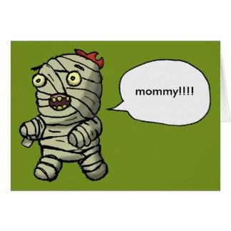 Mummy Dance Card