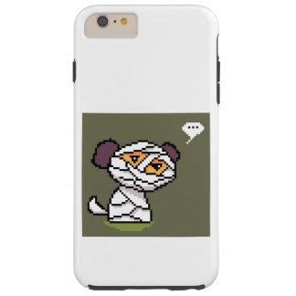Mummy Dog Pixel Art Phone Case Design