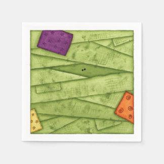 Mummy Face - Napkins Paper Napkin