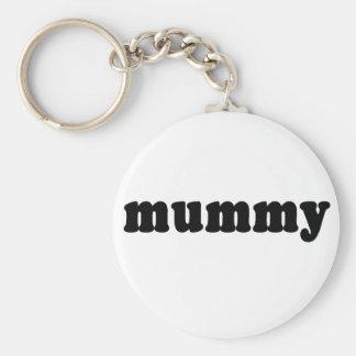 MUMMY Generic T-shirts Basic Round Button Keychain