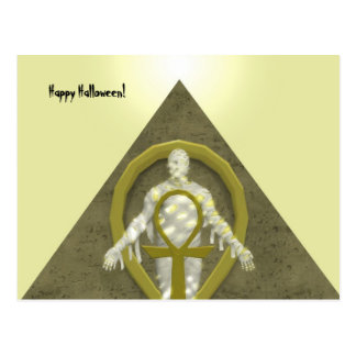 Mummy - Halloween Postcard