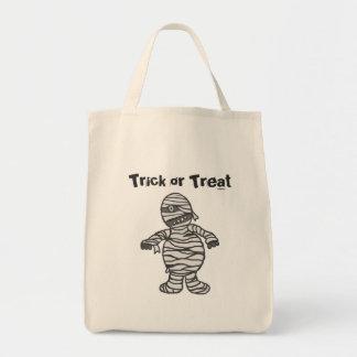 Mummy Halloween Tote
