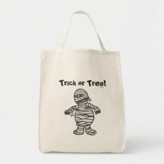 Mummy Halloween Tote bag