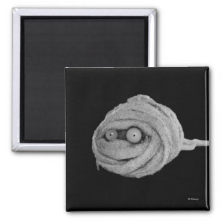 Mummy Hamster 2 Inch Square Magnet