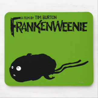 Mummy Hamster Silhouette Mouse Pad