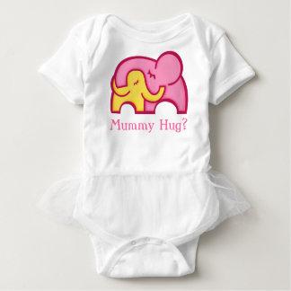 Mummy hug? baby and mom elephant baby's tee