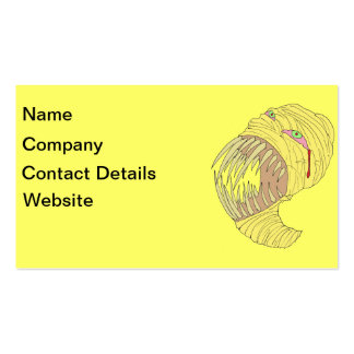 Mummy Maggot Art Double-Sided Standard Business Cards (Pack Of 100)