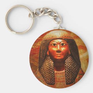 Mummy Mask of Khonsu 1279-1213 B.C Keychain