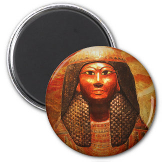 Mummy Mask of Khonsu 1279-1213 B.C Refrigerator Magnets