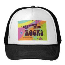 Mummy Milk Rocks Trucker Hat