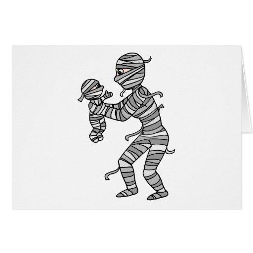 Mummy Mommy Cards