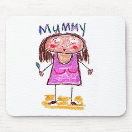 Mummy Mousepads